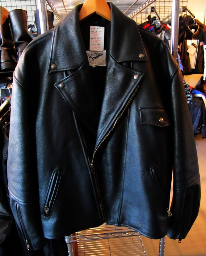 01776 Biker Leather Jacket…. or Emergency Bomb Shelter