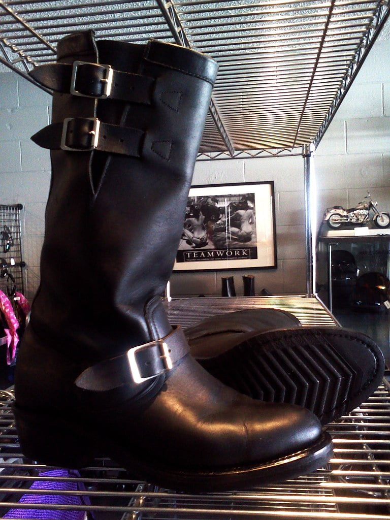01806 Scrumptious Boulet Boots, Engineer Style
