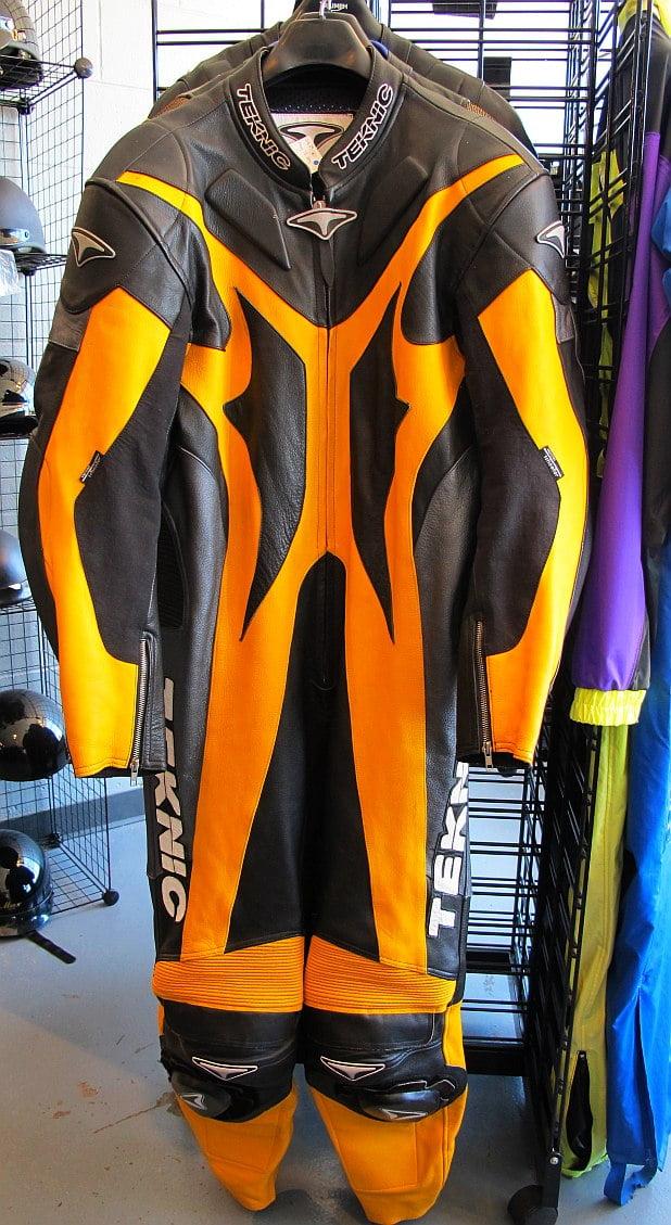 01629 Teknic full leather suit