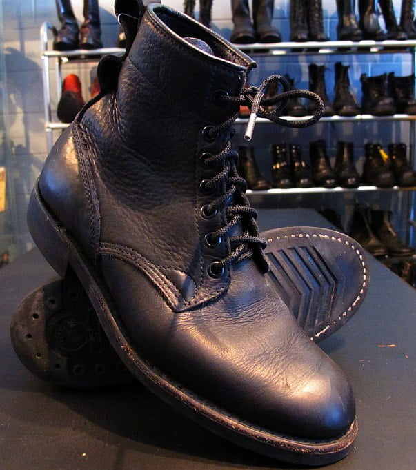 Wings + Horns Dayton Service Boots saved from torture!