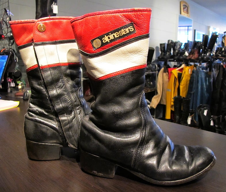 Alpinestars Boots from back in the day.