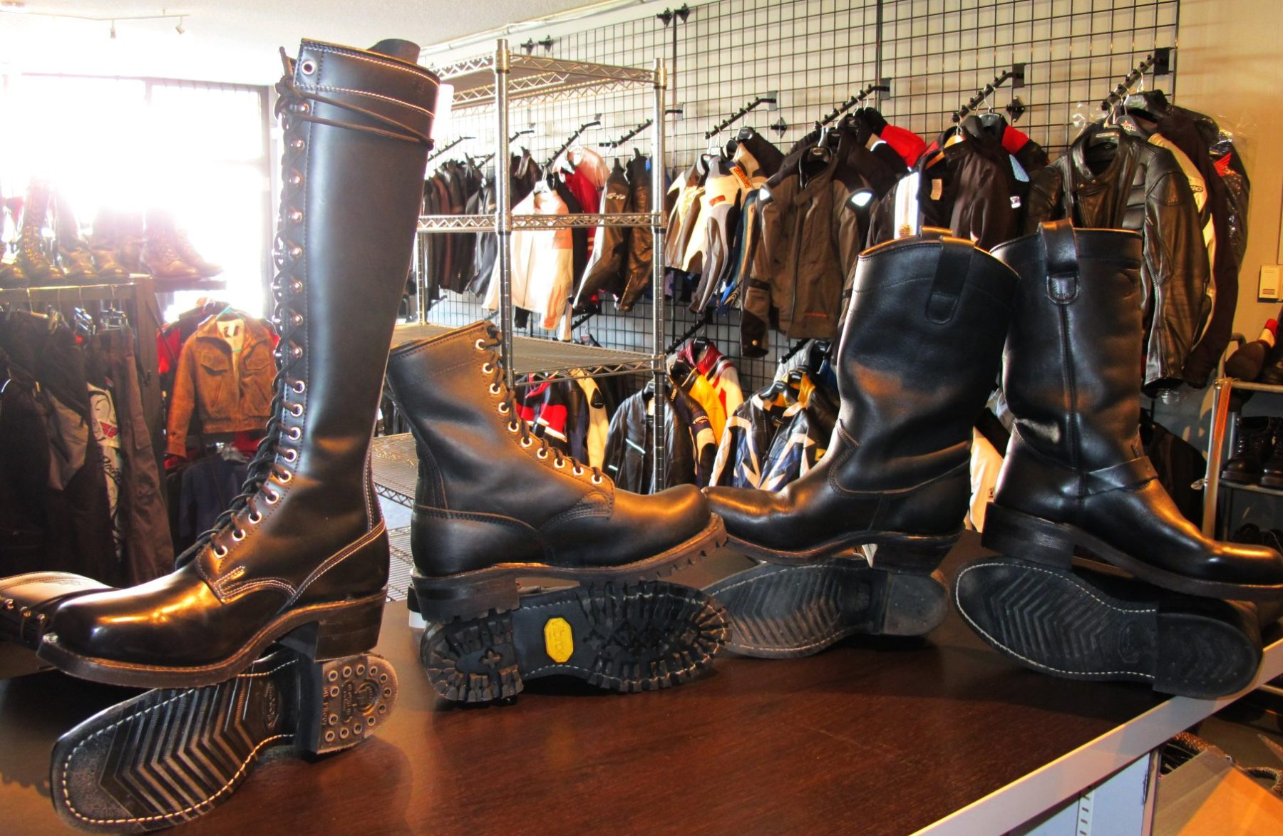 Dayton boots for a set of quadruplets