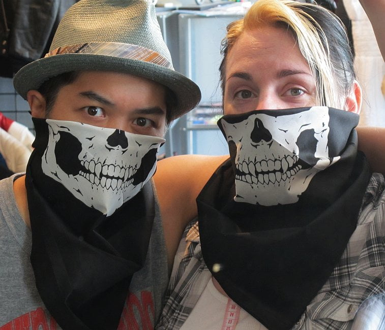 SkullFace bandanas are here!