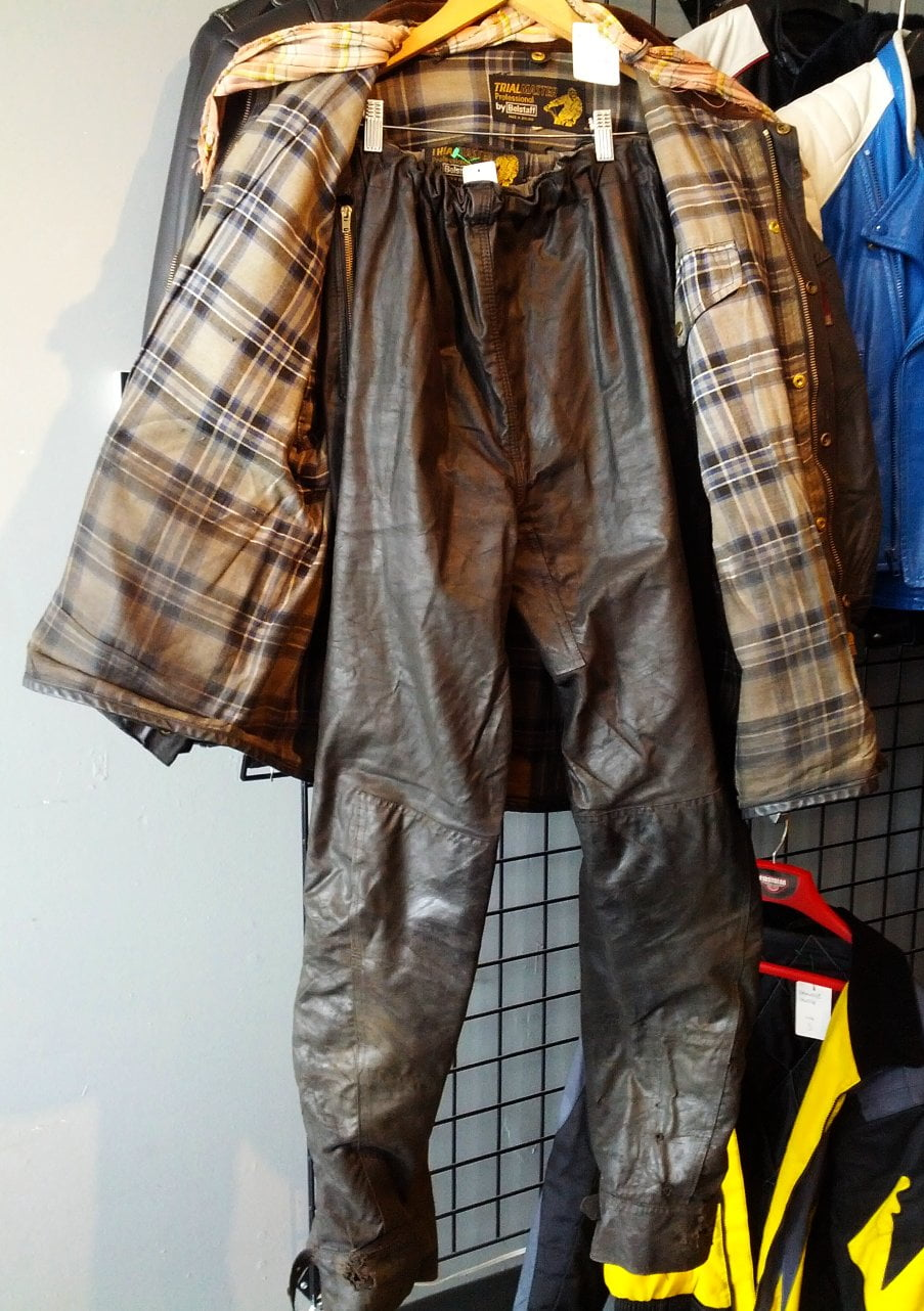 85f2e410c4f2 Belstaff Trailmaster Waxed Cotton jacket and pants