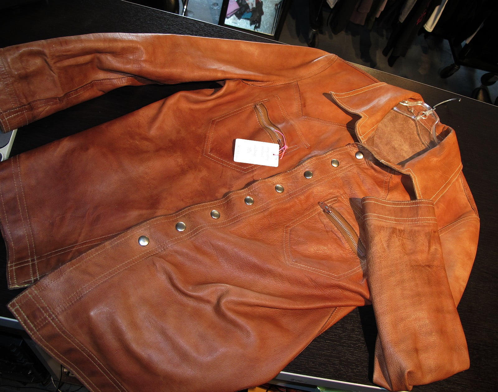 The Ultimate Brown Leather Shirt