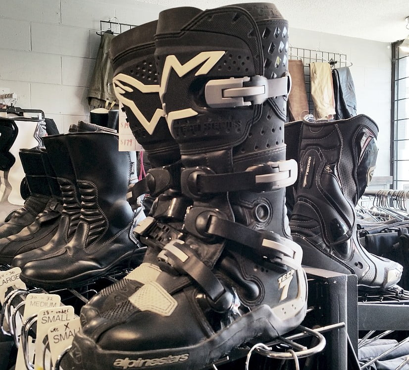 Alpinestars Tech 7 Boots for being shot out of a cannon with