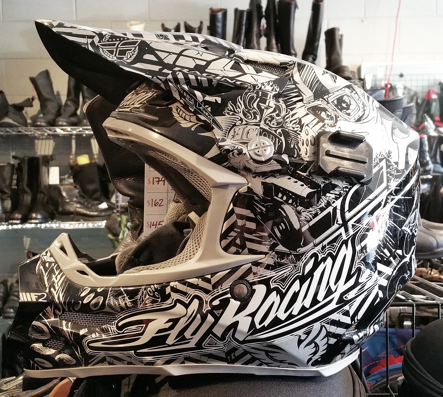 Fly F2 Carbon Victory MX Helmet