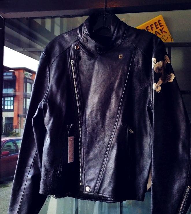 jacket on sale -- east side re-rides