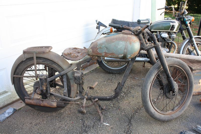 UPDATE: FOUND!    We need the corpse of a motorcycle!