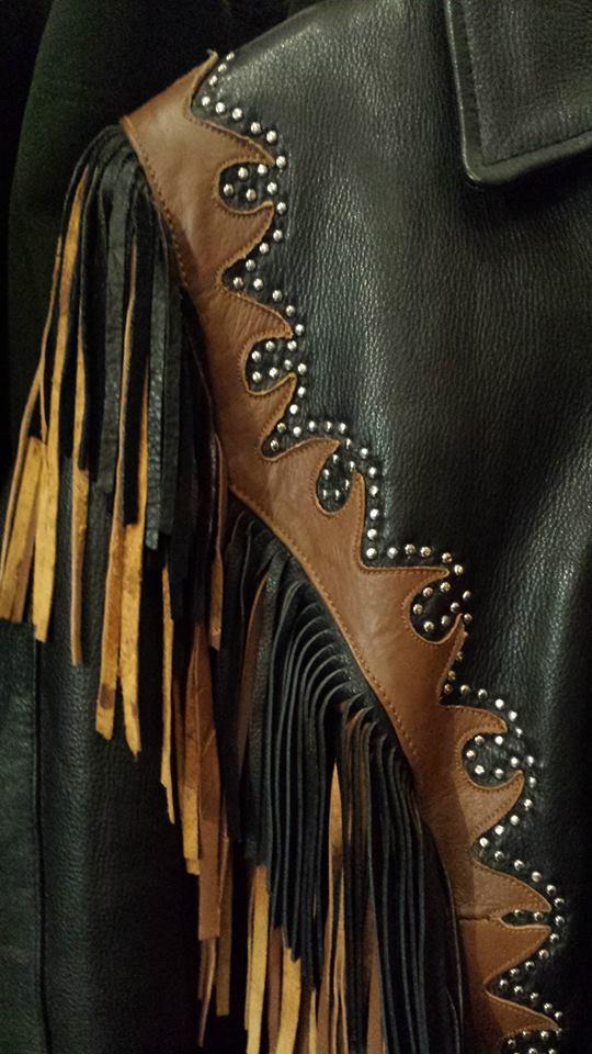 Fashionable Fringed Jacket