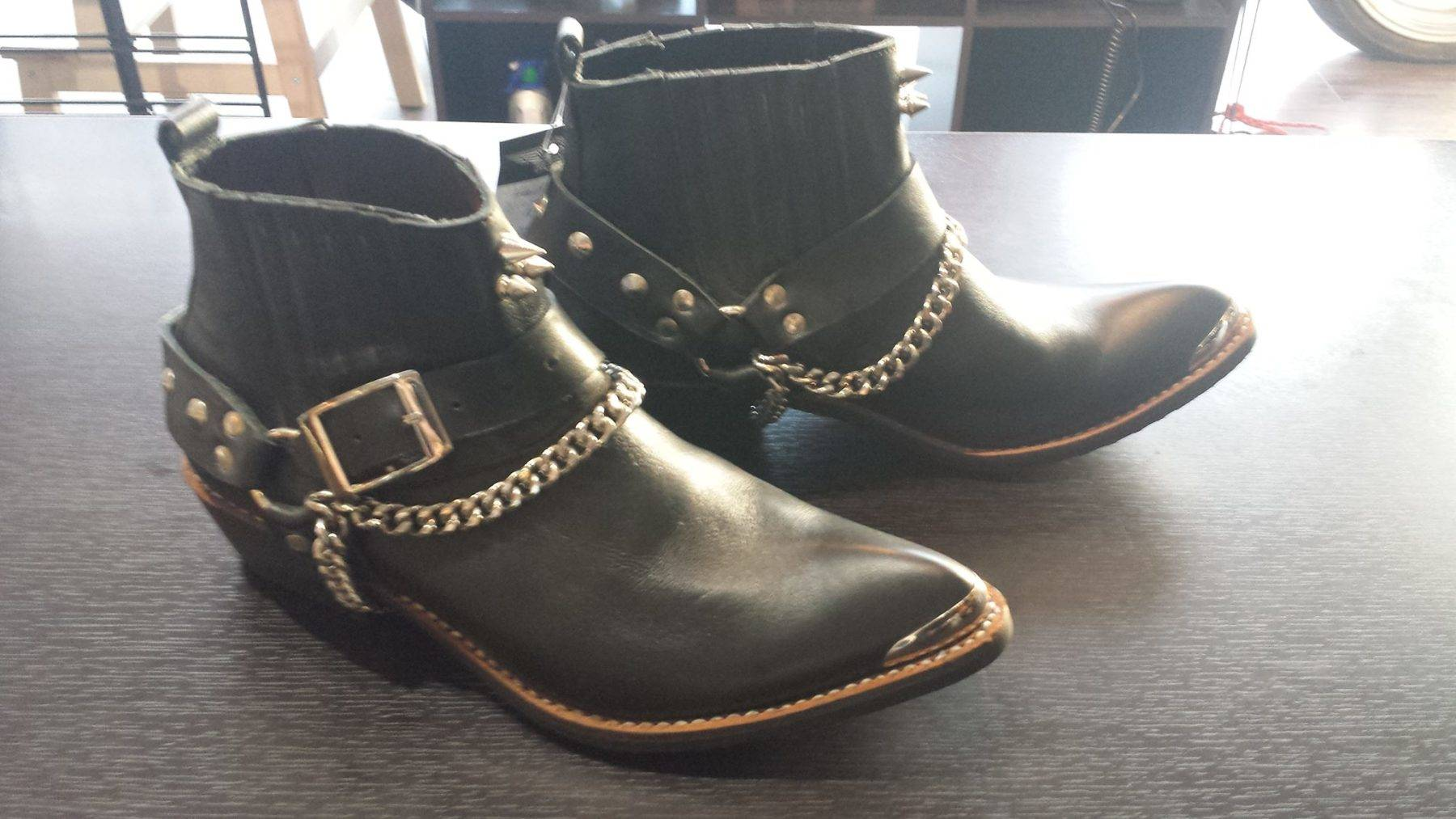 Punk Rock Ankle Boots