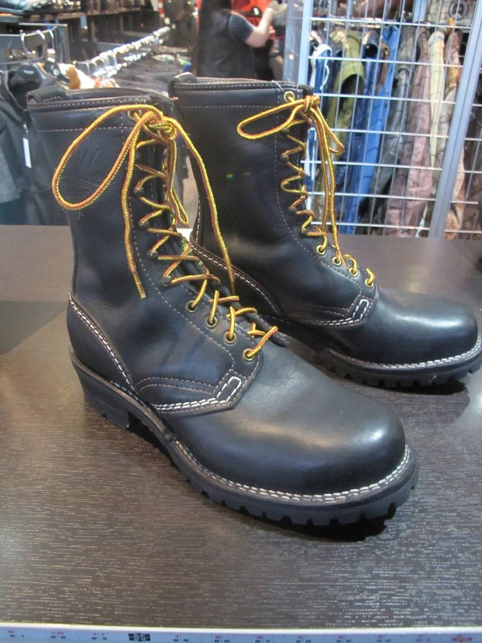 Wesco Steel-toed Boots