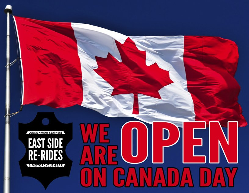 Canada Day! We're open!