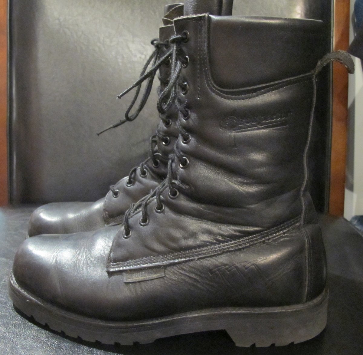 RCMP-Issued Prospector Boots