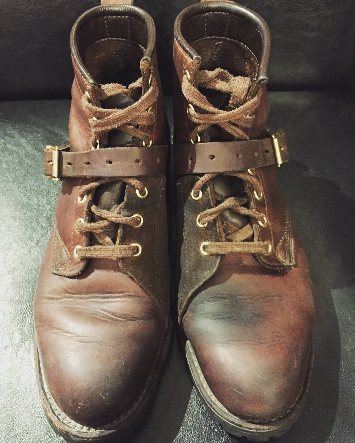 Daytons With Gorgeous Patina