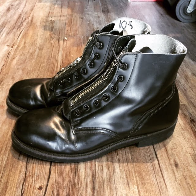 Canadian Military Leather Parade Boots