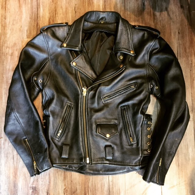 Unbranded Classic Biker Plus Jacket