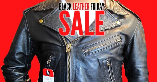 Black (Leather) Friday SALE!