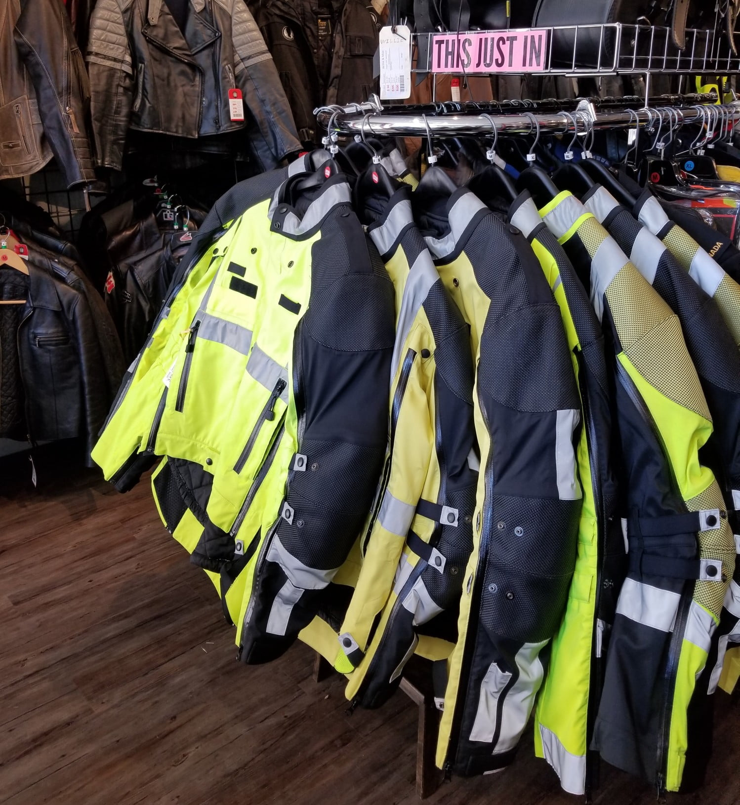 Textile waterproof police-style jackets