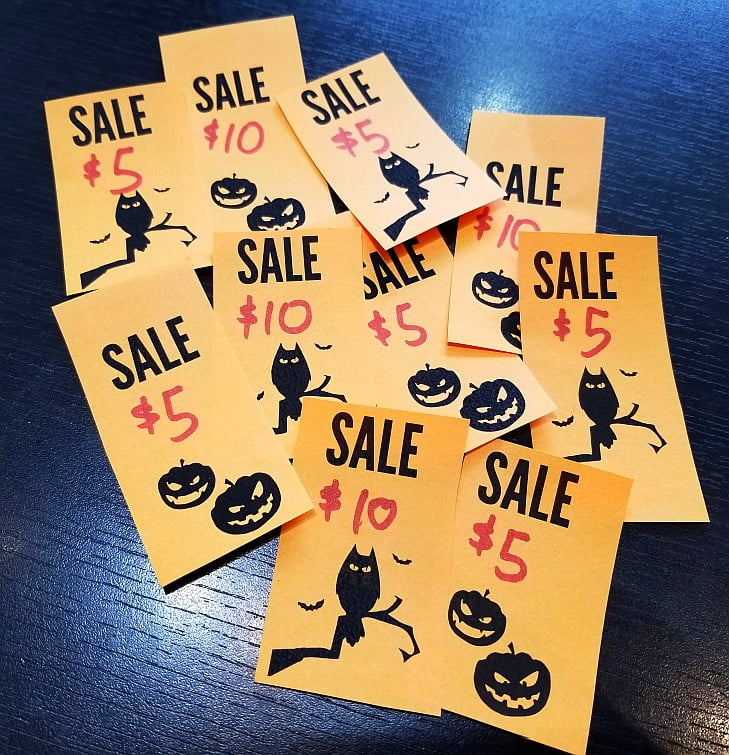 Halloween Sale starts NOW!