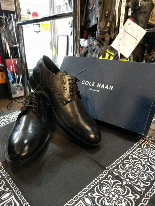 COLE HAAN Leather Henry Grand Derby SHOES     ( Size: Euro 39 | men's 7 | women's 8.5 ) Consignment Consignment