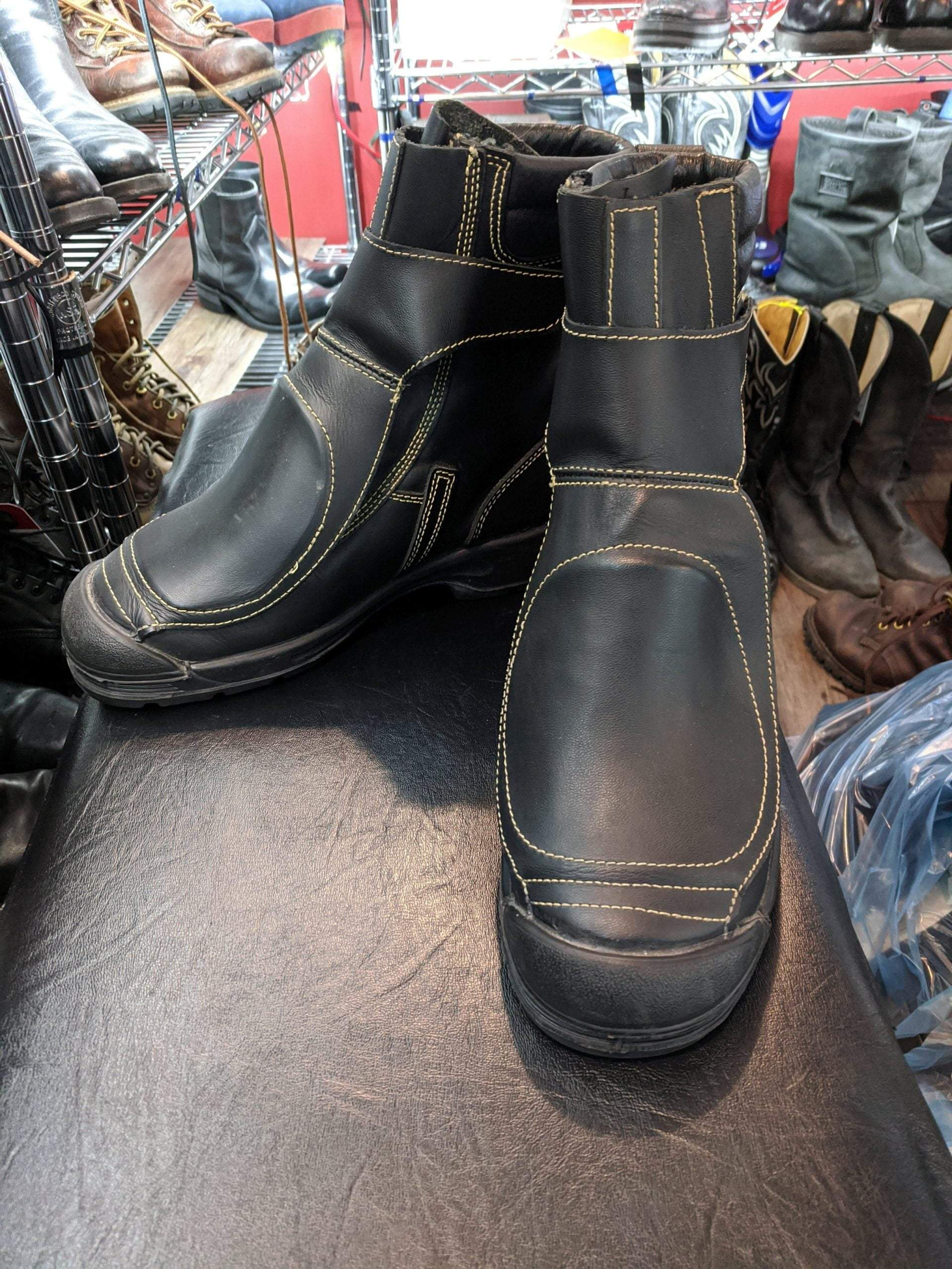 OLIVER Leather Welding BOOTS 19611    ( Size: Euro 39   men's 7   women's 8.5 )