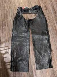 HOT LEATHERS Leather Classic CHAPS ( Thigh Circumf. Size 21″ ) CHAPS CHAPS