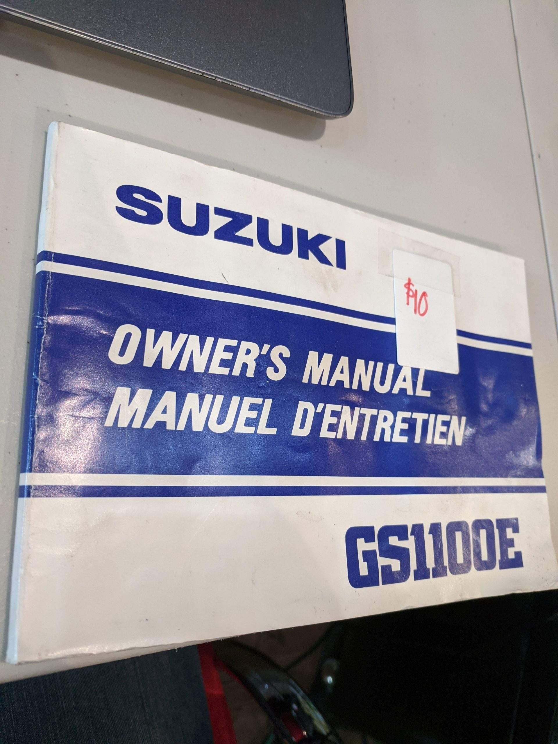 SUZUKI Book ACCESSORY 9900