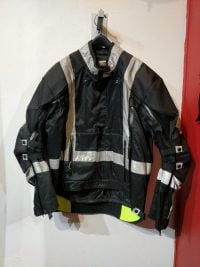 ALPINE JOE Black+Black Textile Riding JACKET Consignment Consignment