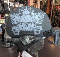 JOE ROCKET Hardcore Canadian Half Helmet BRAND NEW R1313 HELMETS HELMETS