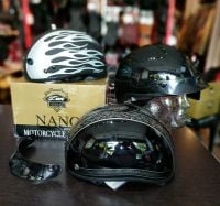 ZOX Nano Half Helmet (Shorty) BRAND NEW R1214 HELMETS HELMETS