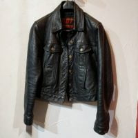 HOT LEATHERS Leather Trucker JACKET | 23934 | XS w 36 Consignment Consignment