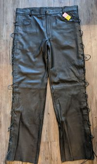 UNIK Leather Overpant PANTS | R11112 | 42″ waist PANTS PANTS