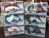 EKS GOGGLES (various colours). New in box. EYE-WEAR EYE-WEAR