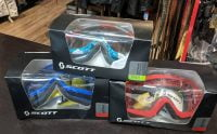 SCOTT GOGGLES (various styles). New in box. EYE-WEAR EYE-WEAR
