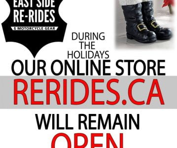 While we're closed for the holidays, the online store is still open for shopping!