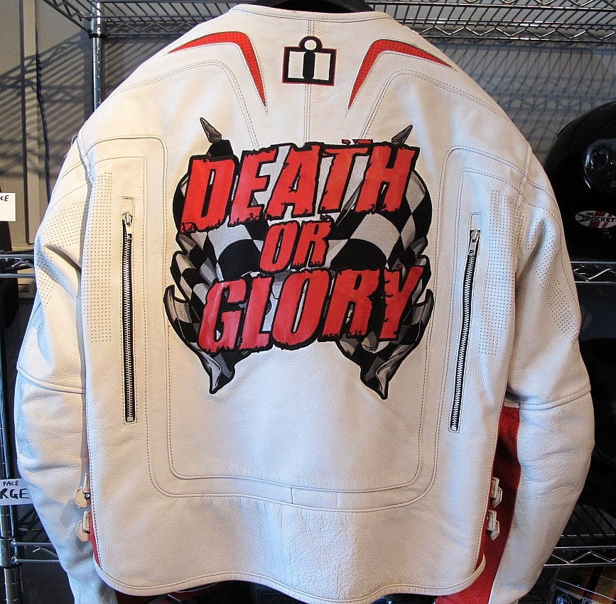 01740 ICON Death or Glory leather jacket