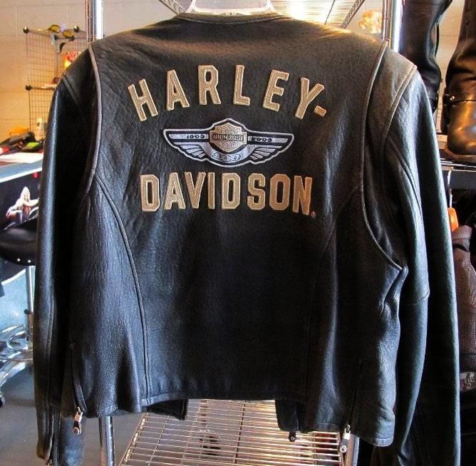 01767 Harley Davidson leather jacket