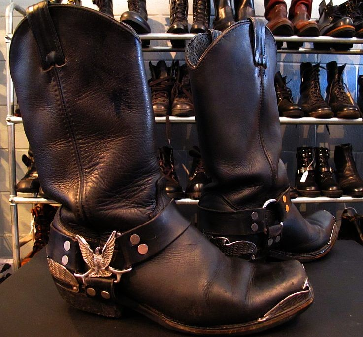 01936 Rockstar Biker Pirate Boots