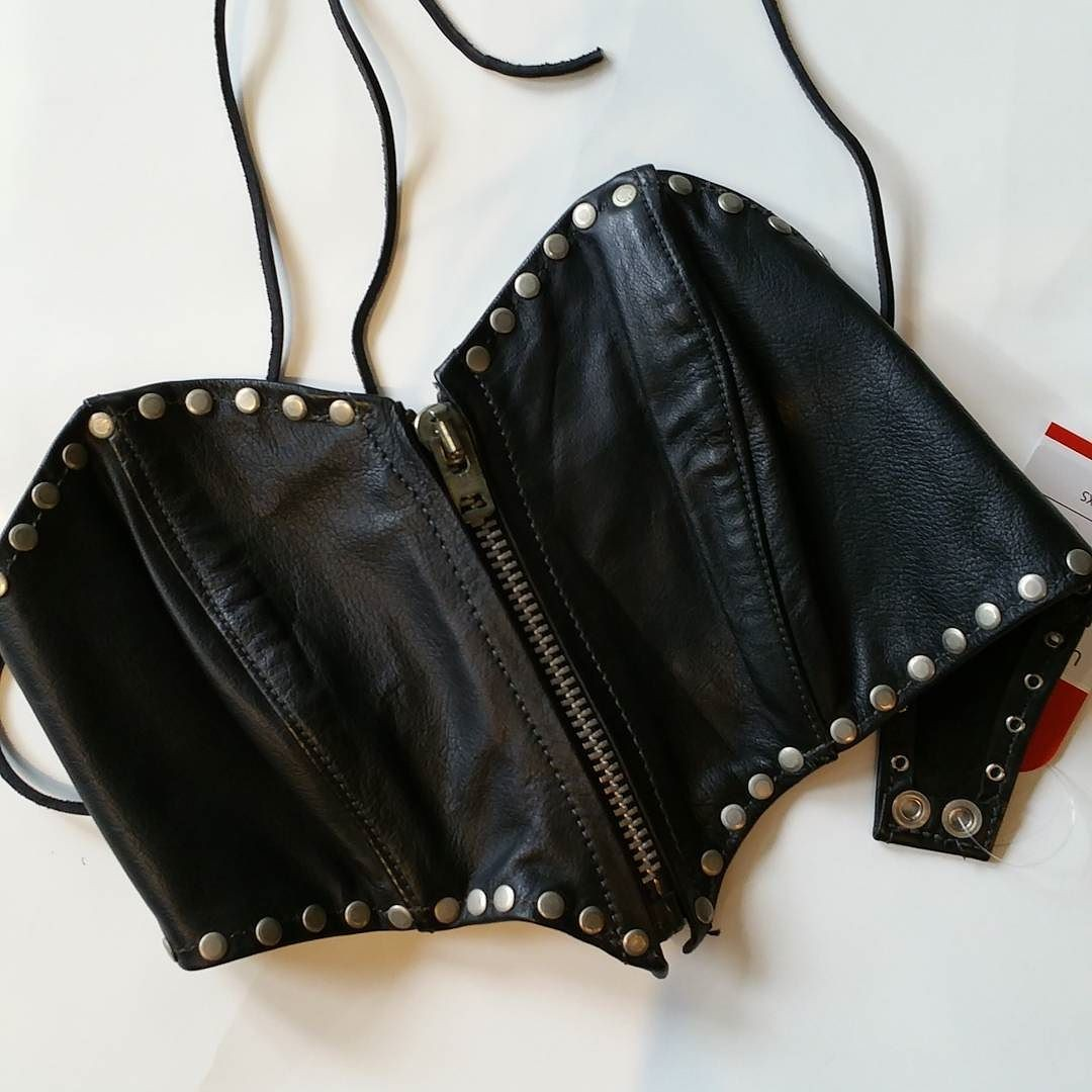 It's raining fancy biker bras…
