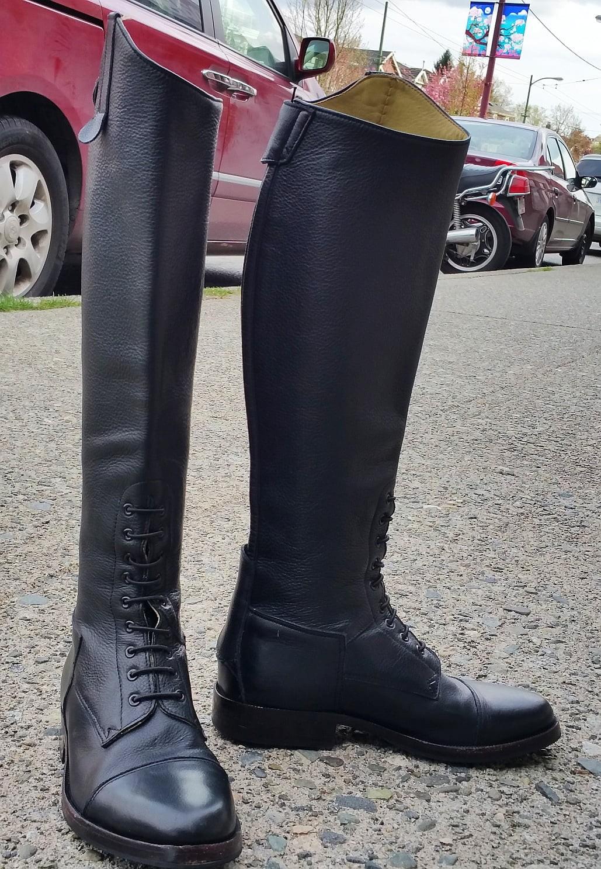 Beautiful, tiny calf boots…