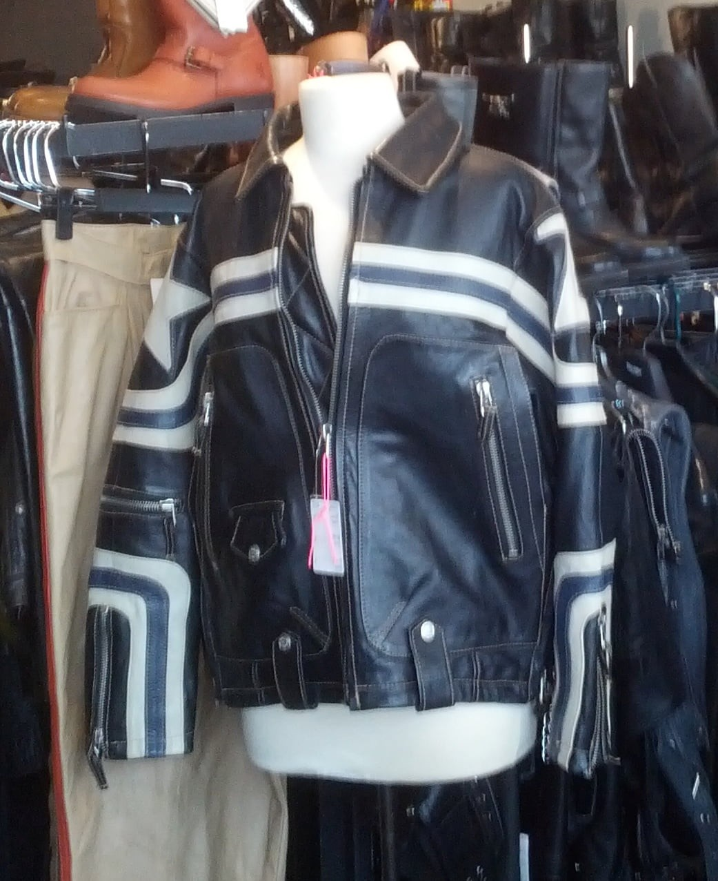 Have you seen this jacket on a thief?