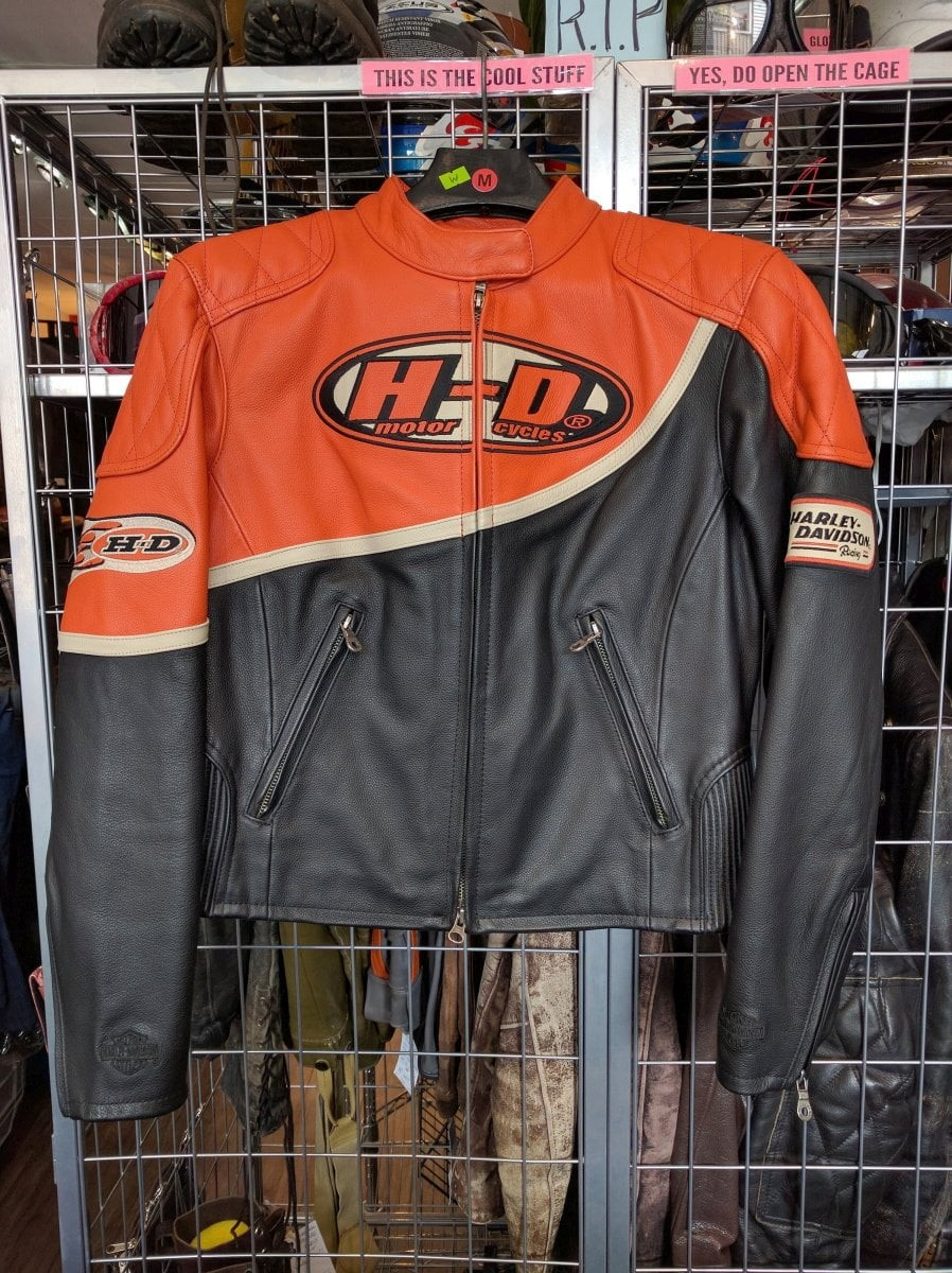 Vintage-Styled Women's Harley Davidson Jacket
