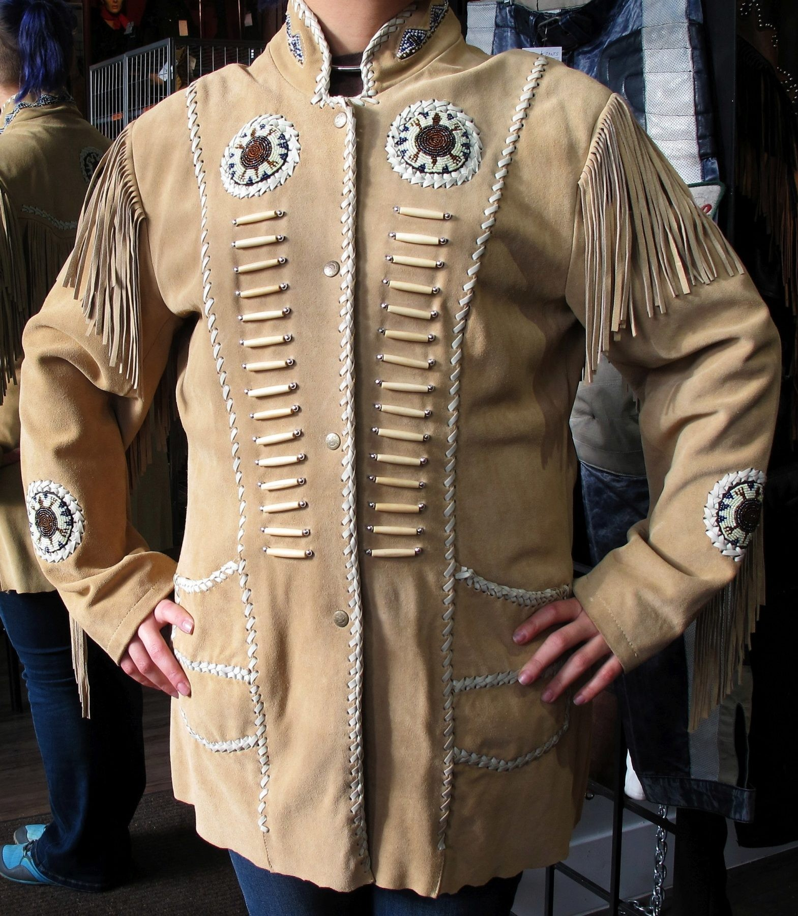 Stunning First Nations-Crafted Coat