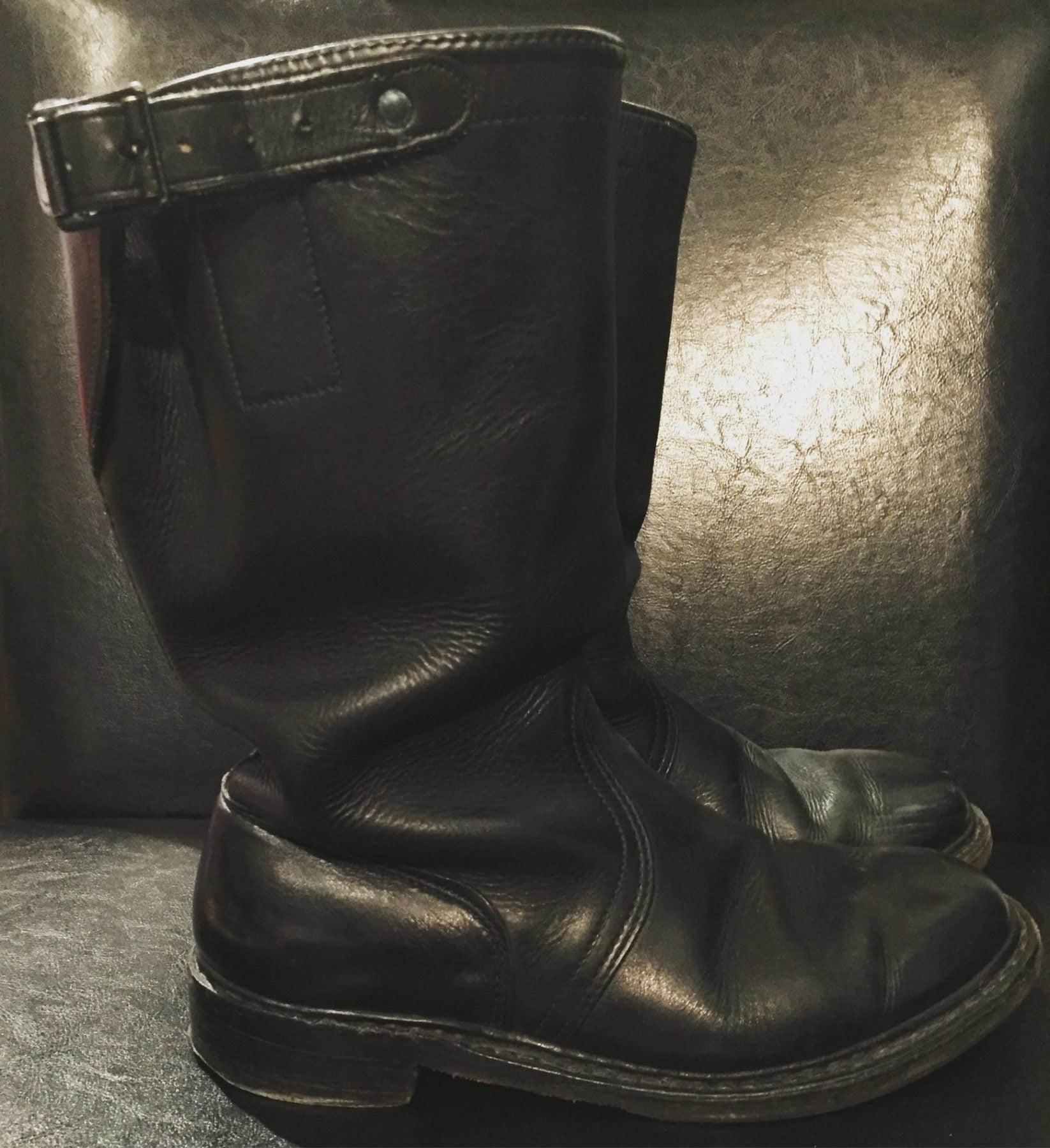 Heiliger Strohsack!! Vintage German Military Boots