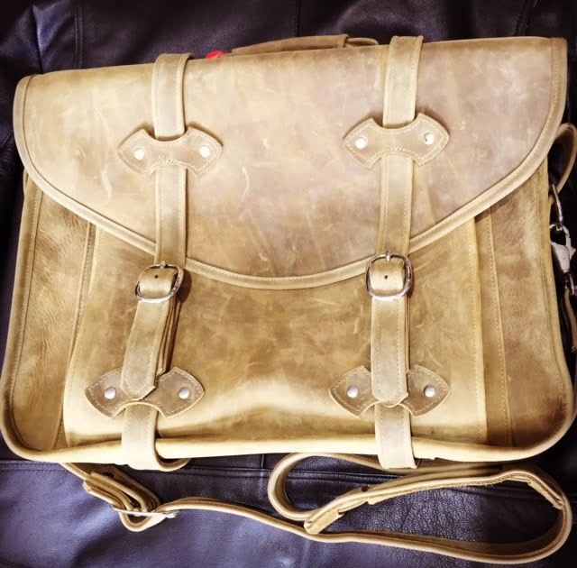 *Fantastical* Moonshine Leather Custom Dillon Briefcase