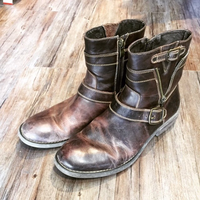 Steve Madden Leather Boots