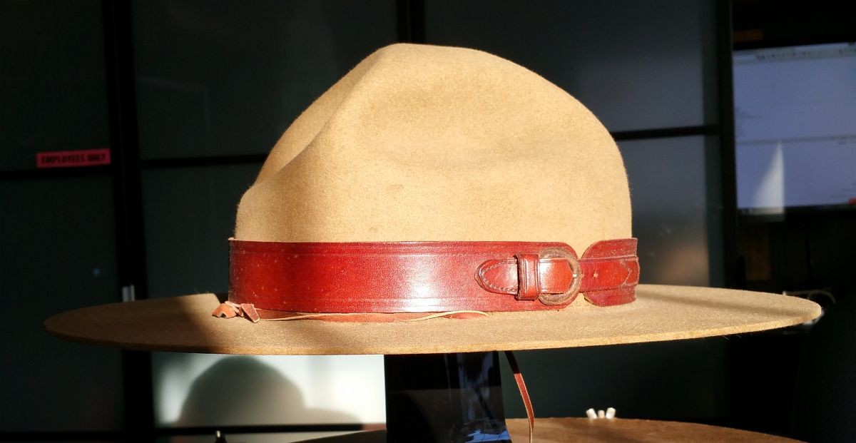 1962 RCMP Stetson (Mountie Hat)