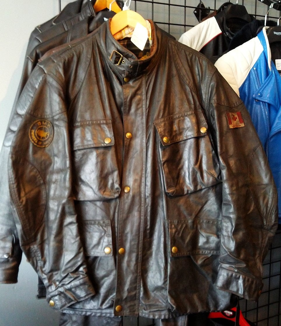 Belstaff Trailmaster Waxed Cotton jacket and pants, vintage riding gear