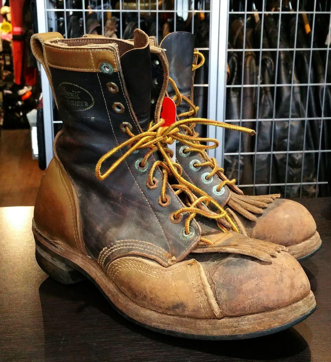 Antique Daoust Boots